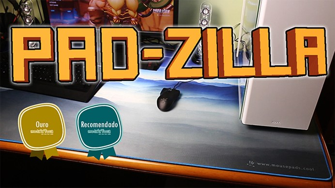 Pad-Zilla™ Portuguese Review Video & Article